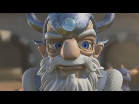 Master Eon as CNR (Skylanders Music Video with Weird Al Yankovic)