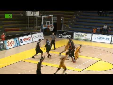 Highlights Basketbal - muži, BK Inter Bratislava - BC Prievidza,Slovak Sport TV basket extraliga