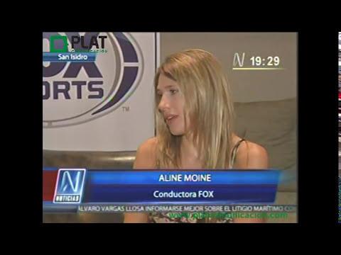 FOX Sports: Entrevista A Alina Moine En Canal N