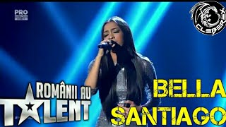 Bella Santiago at Romanii au talent (semifinala 12/05/17)