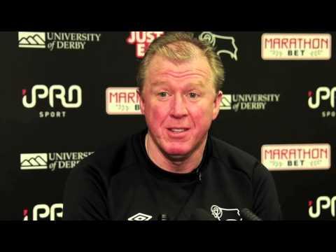 WOLVERHAMPTON WANDERERS Vs DERBY COUNTY | Steve McClaren Pre Match