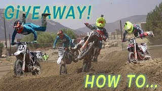 """How To"" Tutorial At Pala! New Giveaway & Freestyle Tricks!?"