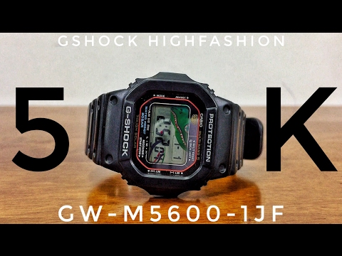 G-Shock GW-M5600-1JF Multiband 5 & Tough-solar watch review   Might be more than that...