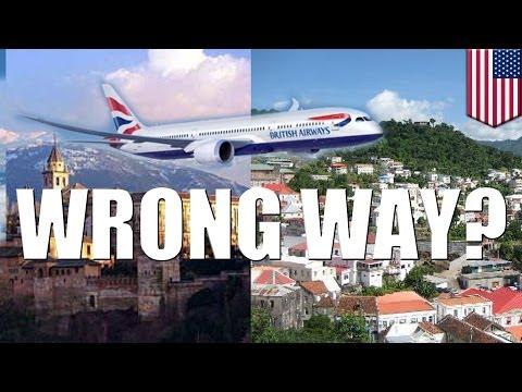 Dentist sues British Airways for $34,000 for sending him to Grenada, not Granada
