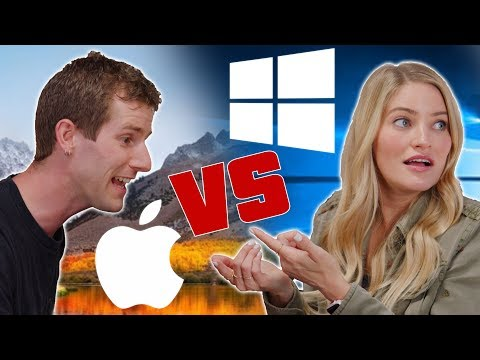 Mac vs PC - ROLE REVERSAL feat. iJustine