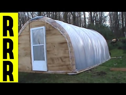 Greenhouse ~ How To Do It Yourself ~  DIY ~  Build A Greenhouse