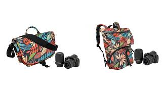 Casual camera shoulder bag and backpack
