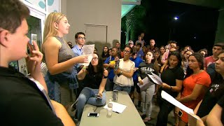 Florida school shooting survivors to confront state lawmakers