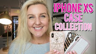 IPHONE XS CASE COLLECTION 2018 || Kellyprepster