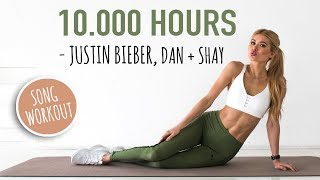 Justin Bieber & Dan + Shay - 10.000 Hours AB WORKOUT - SLOW & INTENSE // No Equipment I Pamela Reif