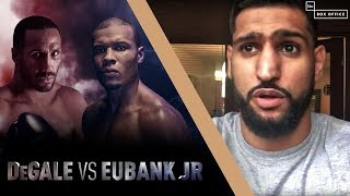 Khan, Smith, Truax and more Boxing Predictions For James DeGale v Chris Eubank Jr