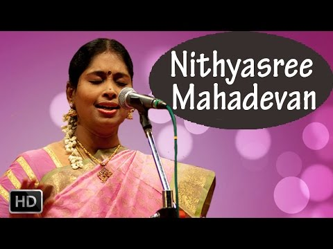 Carnatic Vocal - Annamacharya Krithis - Saranu Saranu Surendra Sannuta - Nithyasree Mahadevan