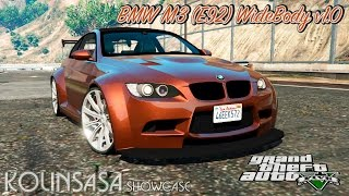 GTA 5 BMW M3 (E92) WideBody v1.0 + Crash test