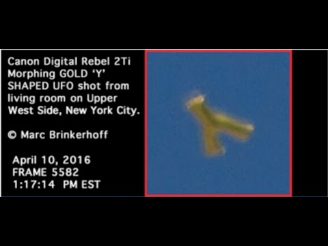Best UFO Pics to Date, Gold Mothership & Multiple Hi Res Photos, Marc Brinkerhoff