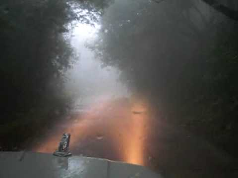 Agumbe Ghat Highway In The Clouds Mahindra Marshal Youtube
