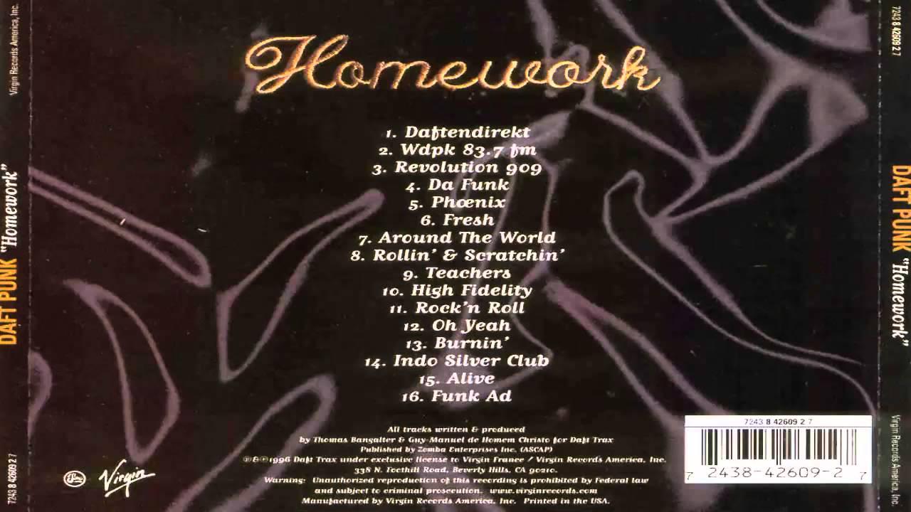 Opening Roof daft punk homework album homeowners
