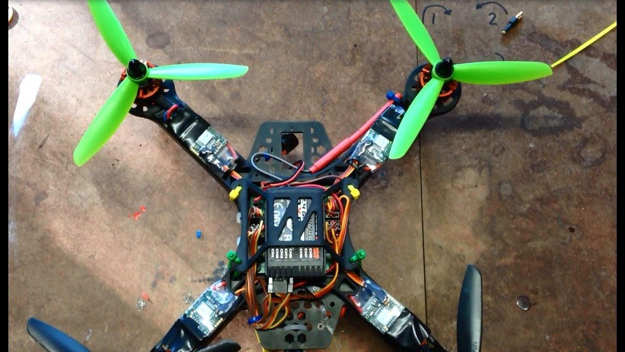 Hobbyking Diatone 250 Quadcopter Kk2 1 Pi Settings For Rc911 Firmware