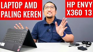 Laptop 2in1 AMD Paling Keren dan Elegan: Review HP Envy X360 13 Ryzen 7 3700U - Indonesia
