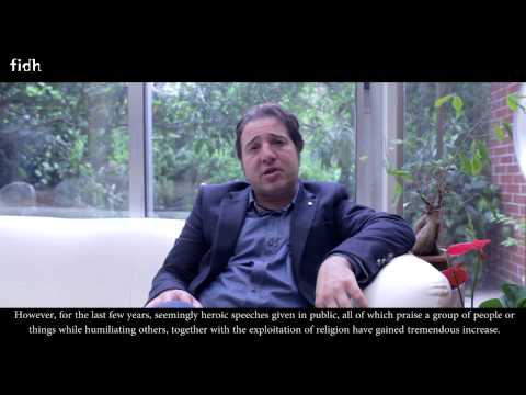 Fazıl Say's Speech for FIDH - Worldwide Human Rights Movement