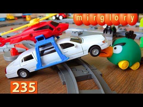 Мультики про Машинки Спасатели Лимузин Город машинок 235 серия Мультики для детей про игрушки