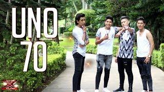 ¡Uno 70 transmiten emociones!   Casa de Jueces   Factor X Bolivia 2018