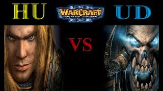 Warcraft 3 1vs1 #134 Human vs Undead [Deutsch/German] Let's Play WC3 The Frozen Throne