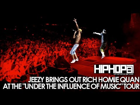 Jeezy Brings Out Rich Homie Quan At 'Under The Influence Of Music' Tour In Camden (07/25/14)