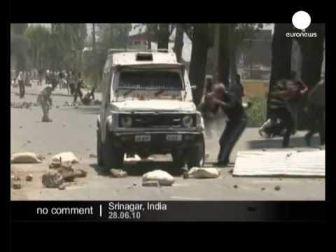 Clashes in Kashmir - no comment