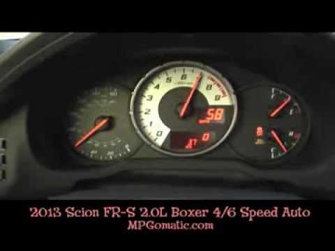 2013 Scion FR-S 0-60 MPH