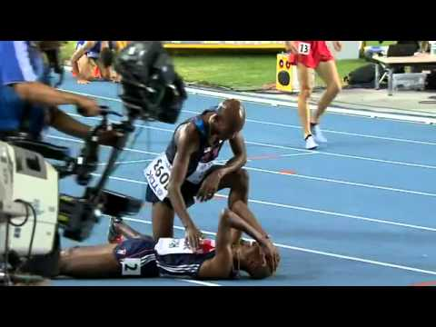 Mo Farah Wins Men's 5000m at World Championships - somali video