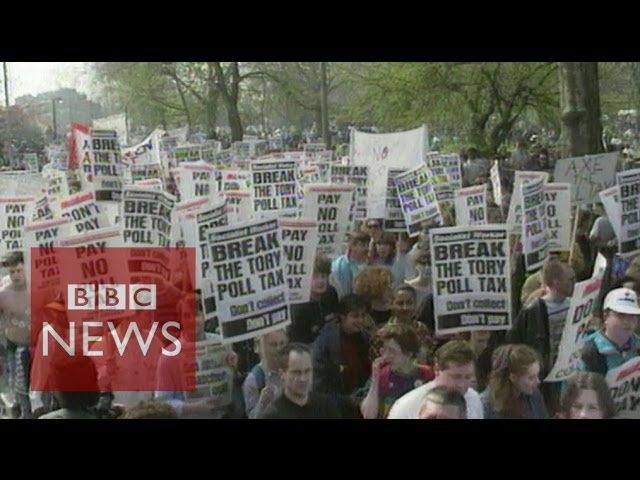Could tax credits be the Tories' new poll tax? BBC News