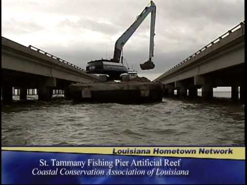 CCA St. Tammany Fishing Pier Reef