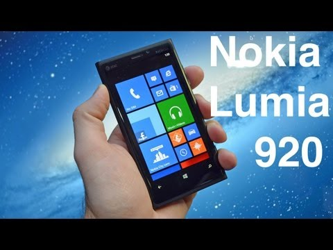 Nokia Lumia 920: Unboxing & Review