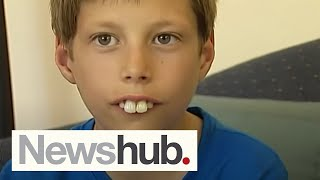 Boy bullied for buck teeth gets new smile after donations pour in | Newshub