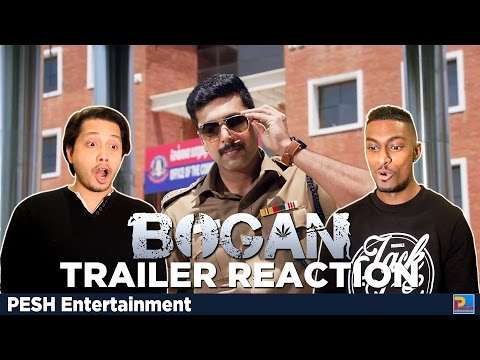 Bogan Trailer Reaction & Review | Jayam Ravi, Arvind Swami | PESH Entertainment