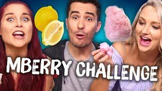 Taste Tripping Mberry Challenge w/ VAT19! (Cheat Day)