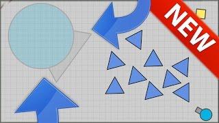 INVISIBLE MANAGER TANK MAX LEVEL! - Diep.io Game SECRET TANK (New Slither.io / agar.io Game Diep.io)