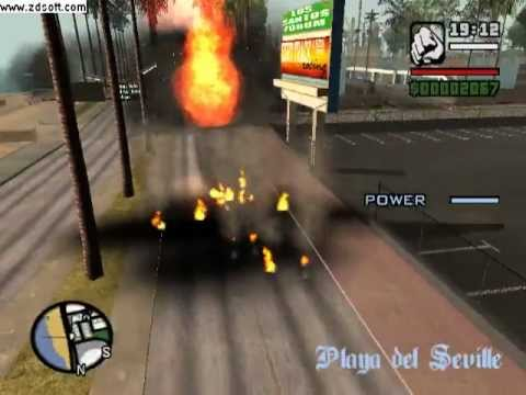 GTA San Andreas SuperMan Prototype Parkour And Cleo Mods