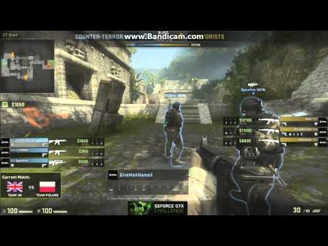 GTX Nvidia Challenge [CS:GO] UK vs Poland