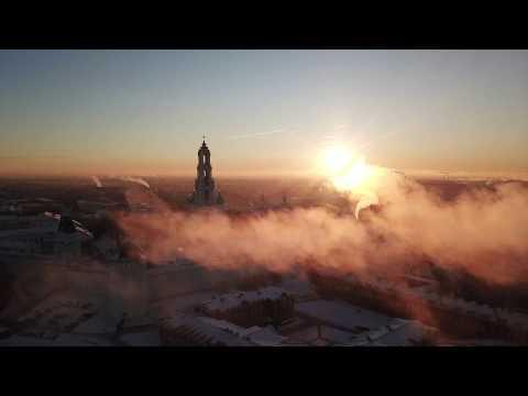 DJI Mavic - В  - 9 градусов творит чудеса в Сергиев Посаде;)]