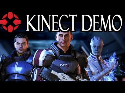 Mass Effect 3 - Kinect Demonstration