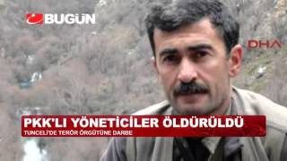 PKK'YA AİT MAĞARALAR BÖYLE VURULDU!