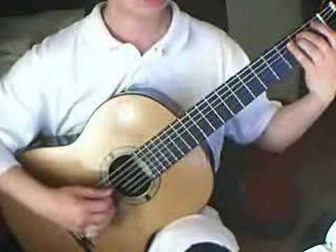 Arpeggio Etude in e minor (Dionisio Aguado)