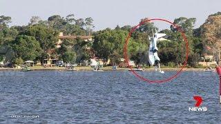 Perth Plane Crash During Australia Day Airshow!