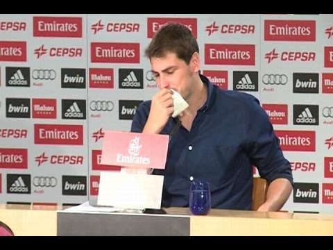 Iker Casillas dice adiós al Real Madrid