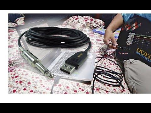 Review USB Guitar Cable di Laptop (Kabel Gitar USB ke 6.35mm)