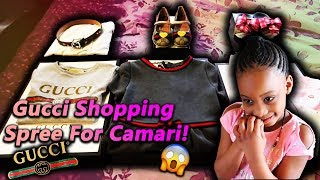 Gucci Shopping Spree For Camari!