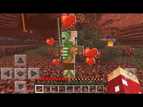 How to Make a Friendly Zombie Pigman in Minecraft Pocket Edition