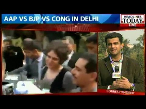 Delhi Polls: AAP top team huddle on voting day