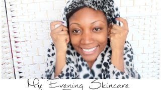 My Evening Skincare Routine 2014 | LizLizLive